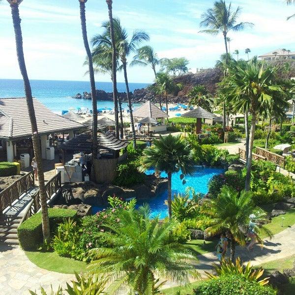 Photo taken at Sheraton Maui Resort & Spa by Minh T. on 10/27/2012
