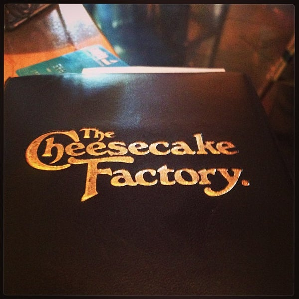 Photo taken at The Cheesecake Factory by Spencer C. on 6/1/2013