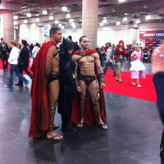 Photo taken at New York Comic Con 2012 by Alice S. on 10/14/2012