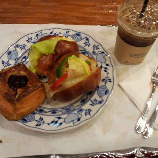 Photo taken at OPS Bread & Cake by unneenebookcafe 언. on 5/17/2013