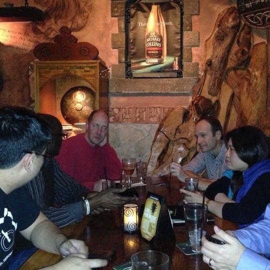 Photo taken at Fadó Irish Pub & Restaurant by Bob K. on 12/13/2012