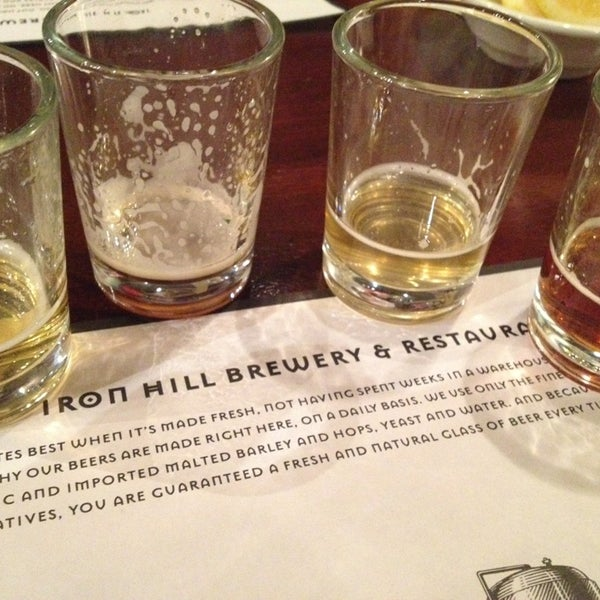 Photo taken at Iron Hill Brewery & Restaurant by Sean G. on 1/4/2013