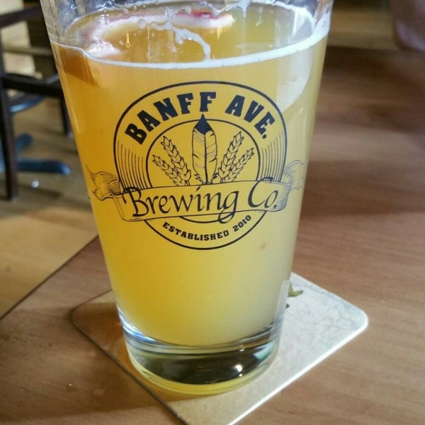 Photo taken at Banff Avenue Brewing Co. by George G. on 7/2/2016