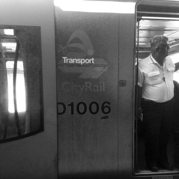 Photo taken at Bankstown Station by Han Y. on 9/28/2013
