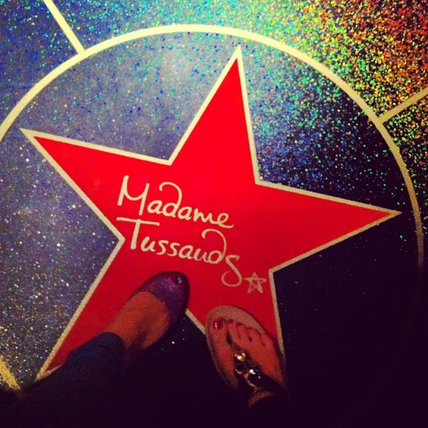 Photo taken at Madame Tussauds by Noon on 7/12/2013