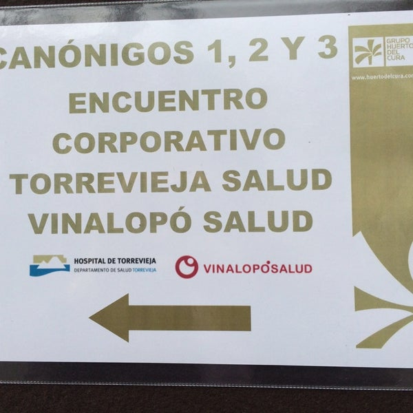 Foto tomada en Hotel Huerto del Cura por Mageles M. el 3/12/2014