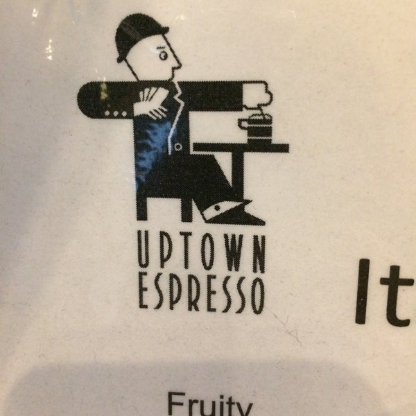 Photo taken at Uptown Espresso by Rain T. on 1/30/2017