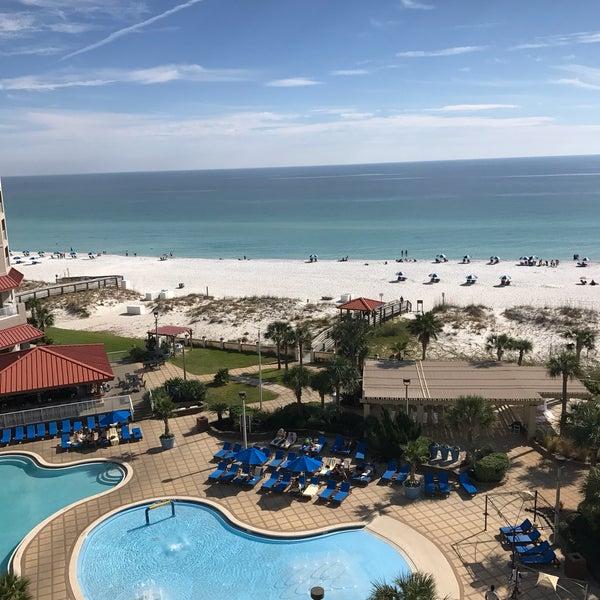 Photo taken at Hilton Pensacola Beach by Blair C. on 11/12/2016