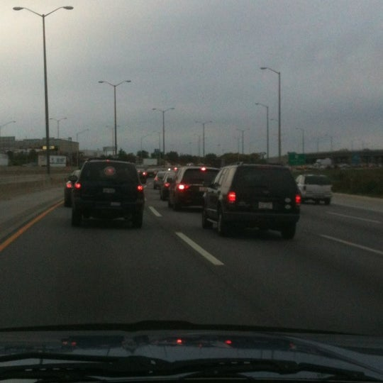 Photo taken at Veterans Memorial Tollway by Robert S. on 10/5/2012