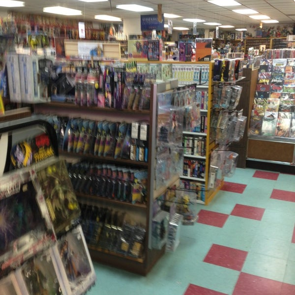 Photo taken at Third Planet Sci-Fi Superstore by Paul M. on 5/16/2013