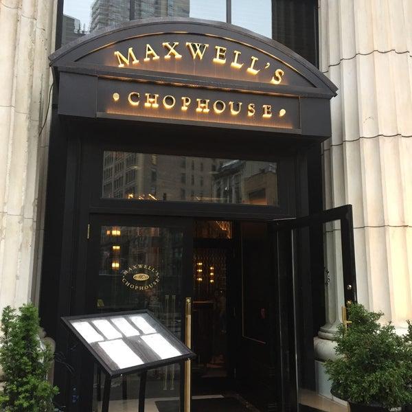 Photo taken at Maxwell\u0026#39;s Chophouse by David S. on 5/ & Photos at Maxwell\u0027s Chophouse - NoMad - 1184 Broadway
