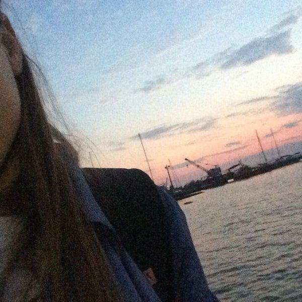 Photo taken at Пляж в Октябрьском by Dasha L. on 9/26/2016