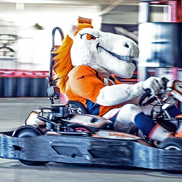 Photo taken at Unser Karting & Events by Sean C. on 1/12/2015