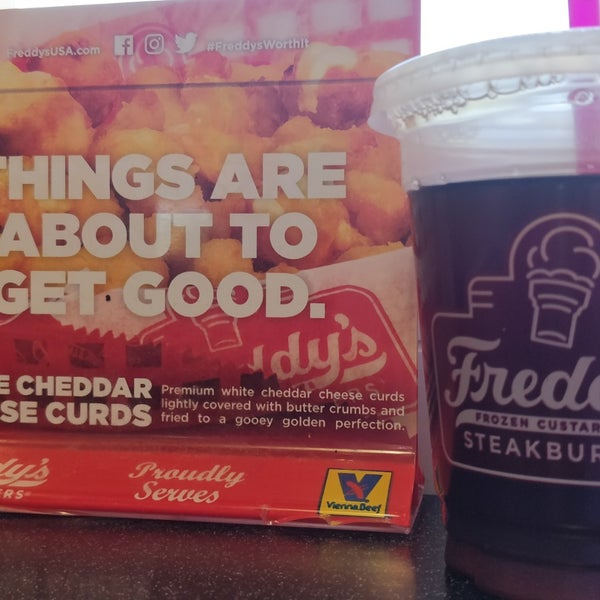 Photo taken at Freddy's Frozen Custard and Steakburgers by Joy B. on 6/22/2018