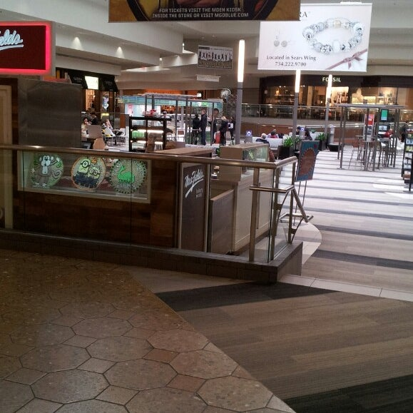 Photo taken at Briarwood Mall by Andrew K. on 3/5/2014
