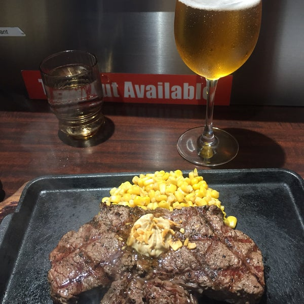 Don't forget to add the corn and onions with your steak. Pepper garlic rice is a heavenly mound of pepper, rice, corn, garlic, and steak bits.