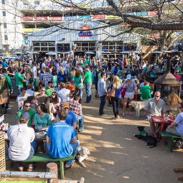 Photo taken at Katy Trail Ice House by Brandyn H. on 5/11/2013
