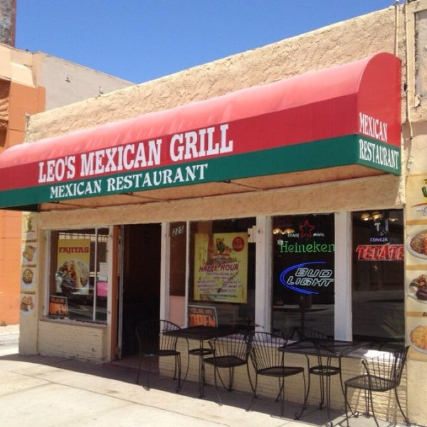 Photo taken at Leos Mexican Grill by Andrew F. on 3/18/2014
