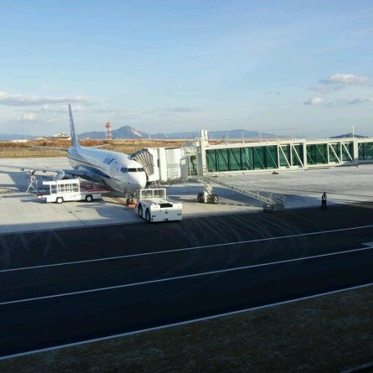 12/20/2012にTaka M.が岩国錦帯橋空港 / 岩国飛行場 (IWK)で撮った写真