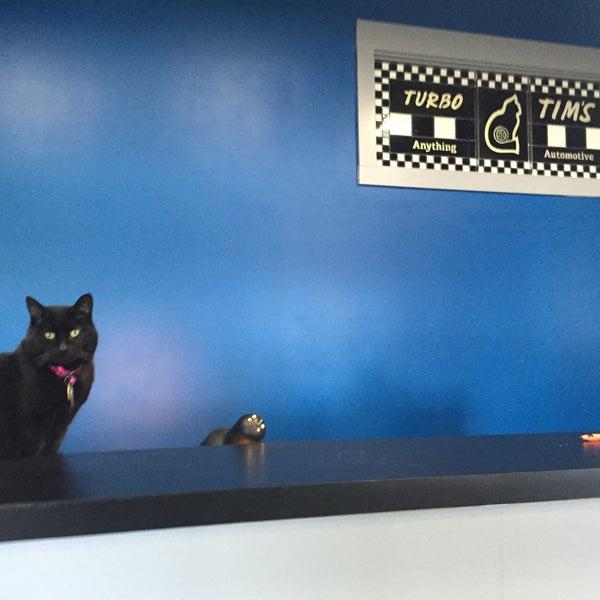 Photo taken at Turbo Tim's Anything Automotive by Sarah G. on 2/11/2015