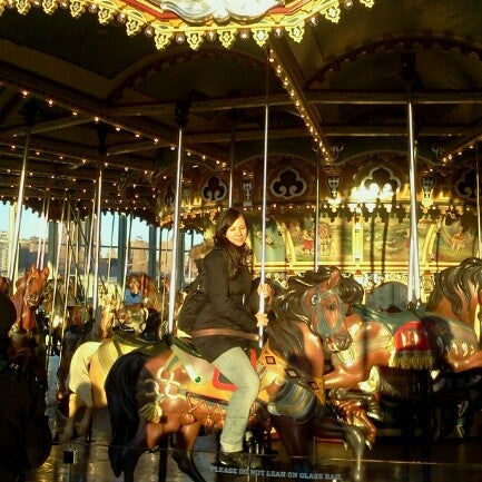Photo taken at Jane's Carousel by Maurício C. on 12/30/2012