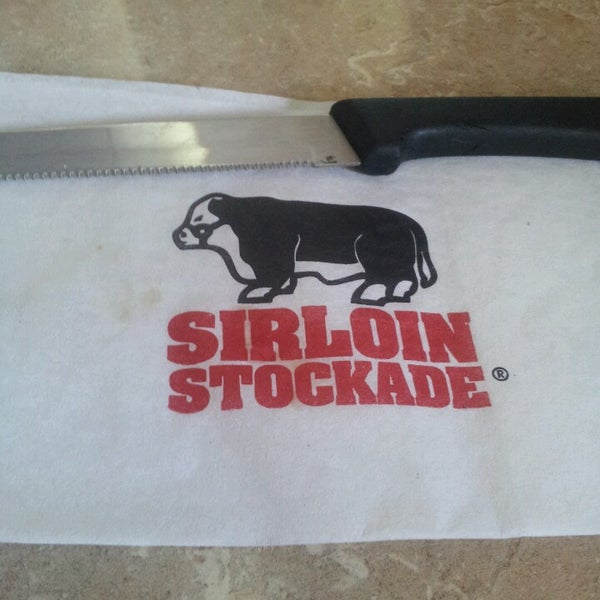 Photo taken at Sirloin Stockade Plaza Loreto by Alejandro H. on 3/3/2013
