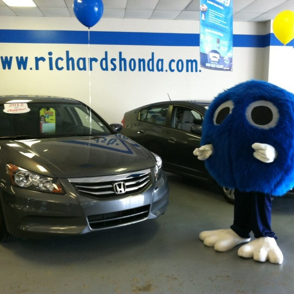 Photo Taken At Richards Honda By Rob H. On 6/15/2013