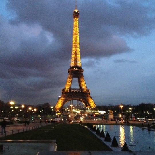 Photo prise au Place du Trocadéro par Daria Z. le2/11/2013