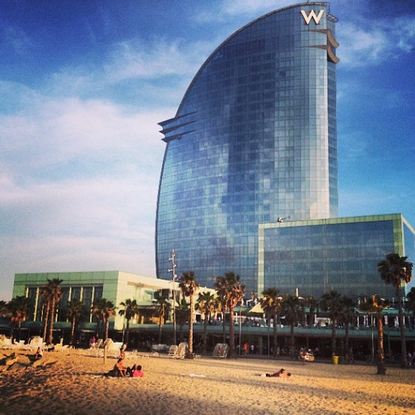 Photo taken at W Barcelona by Vladimir P. on 6/29/2013