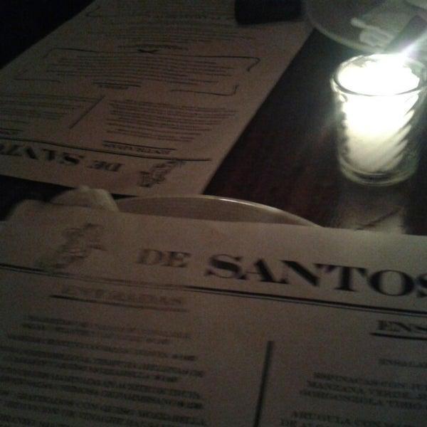 Photo taken at De Santos by Steff F. on 2/16/2014