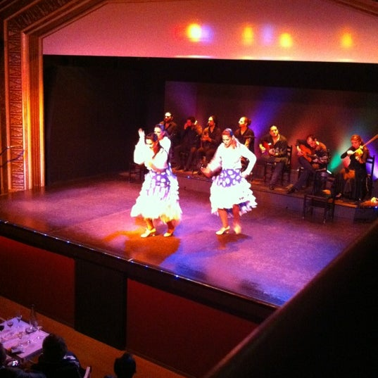 Photo taken at Palacio del Flamenco by Taylan C. on 10/26/2012