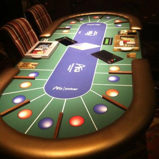 Photo taken at Aria Poker Room by Bryan K. on 12/7/2012