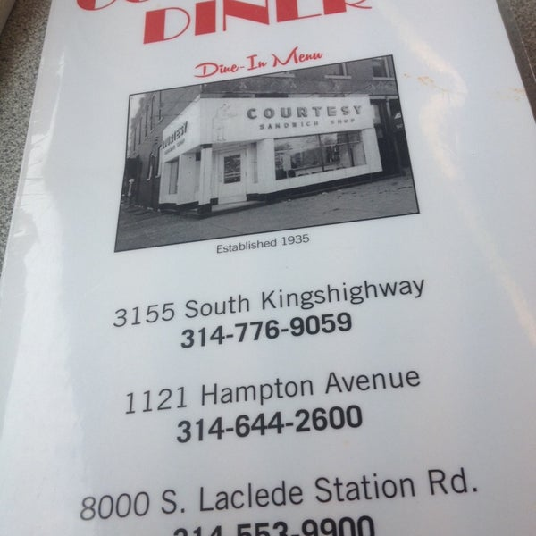 Photo taken at Courtesy Diner by Emily H. on 2/9/2014