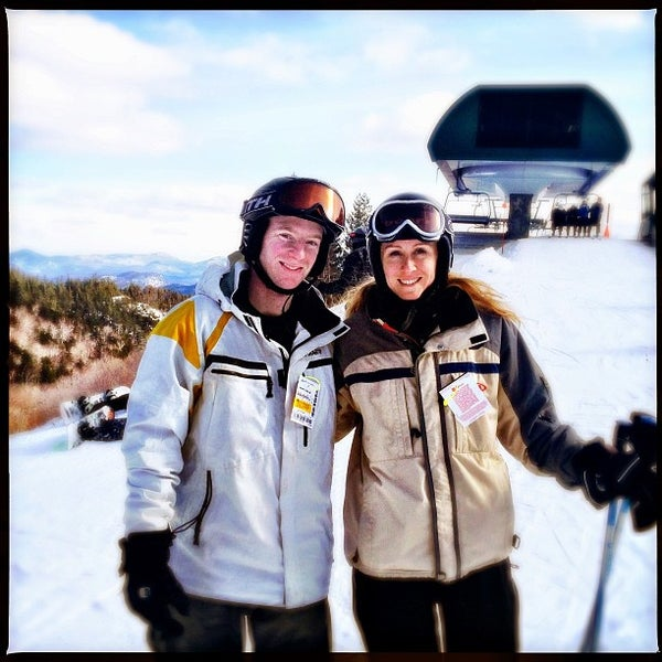 Photo taken at Whiteface Mountain by Erica S. on 2/16/2013