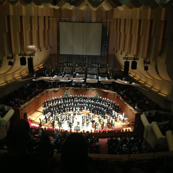 Photo taken at Louise M. Davies Symphony Hall by JoAnne K. on 12/20/2013