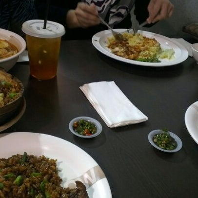 Photo taken at Chow Food Court by Elle S. on 11/23/2012