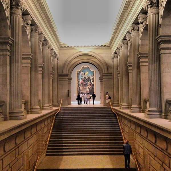 The metropolitan museum of art art museum in central park for Museum of art metropolitan