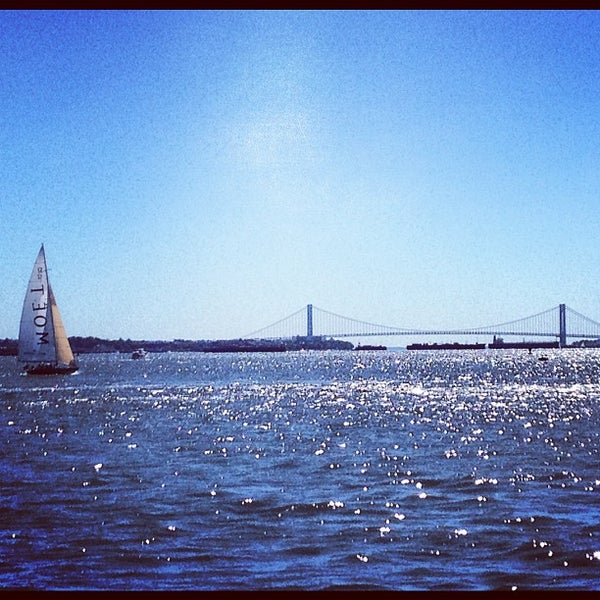 Photo taken at New York Harbor by Dmitriy E. on 9/24/2012