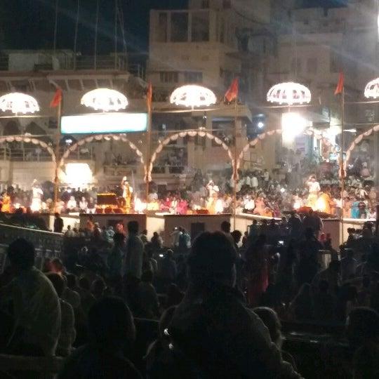 Photo taken at Dasaswamedh Ghat by Srijan S. on 11/15/2017