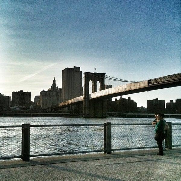 Photo taken at Brooklyn Bridge Park by Eva S. on 6/15/2013