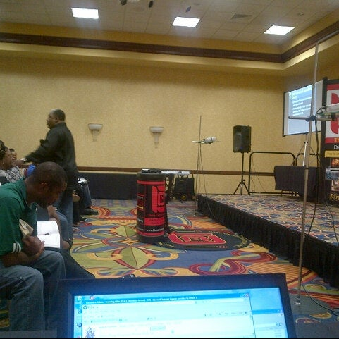 Photo taken at Houston Marriott South at Hobby Airport by Humphrey B. on 10/24/2012
