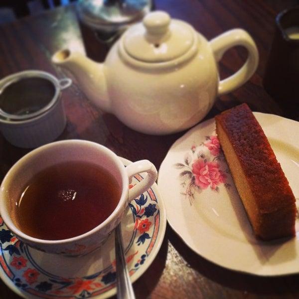 Tea Rooms Stoke Newington Menu