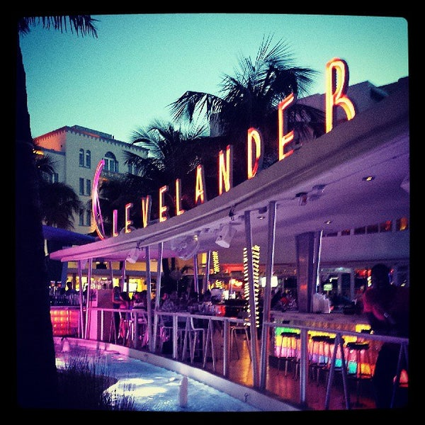 Photo taken at Clevelander South Beach Hotel and Bar by Brian F. on 7/24/2013