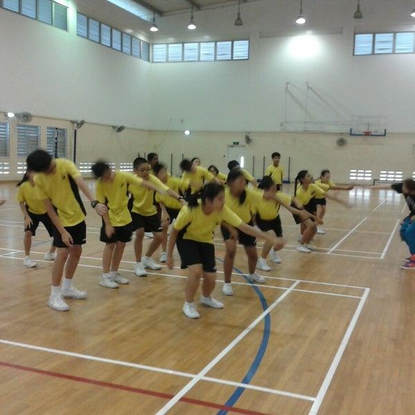 Exterior: Indoor Sports Hall @ Anderson Secondary School