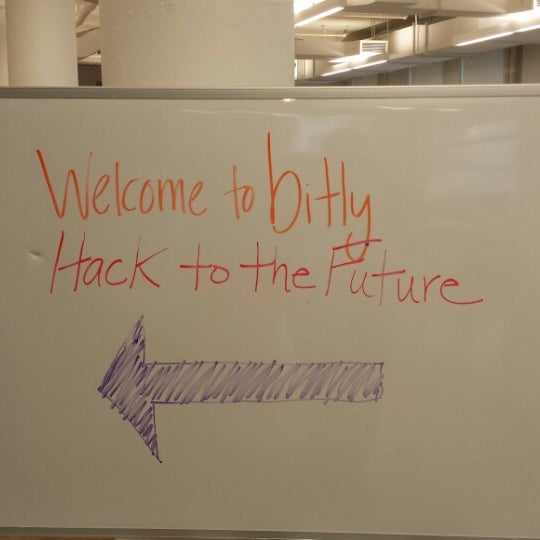 Photo taken at Bitly HQ by Andrew P. on 6/15/2013