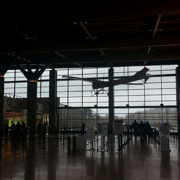 Photo taken at Portland International Jetport (PWM) by Bree D. on 3/6/2013