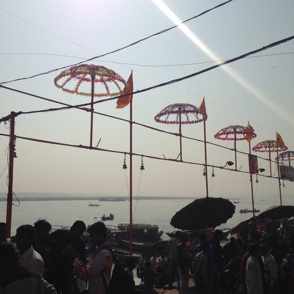 Photo taken at Dasaswamedh Ghat by Mudit T. on 11/25/2016