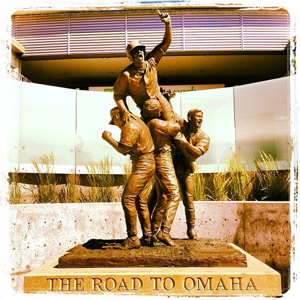 Photo taken at TD Ameritrade Park by Kyle A. on 6/28/2013