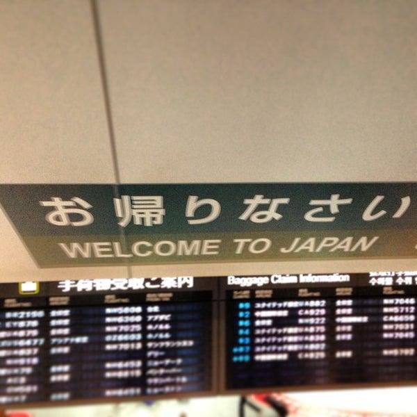 Photo taken at Narita International Airport (NRT) by Sean O. on 5/25/2013