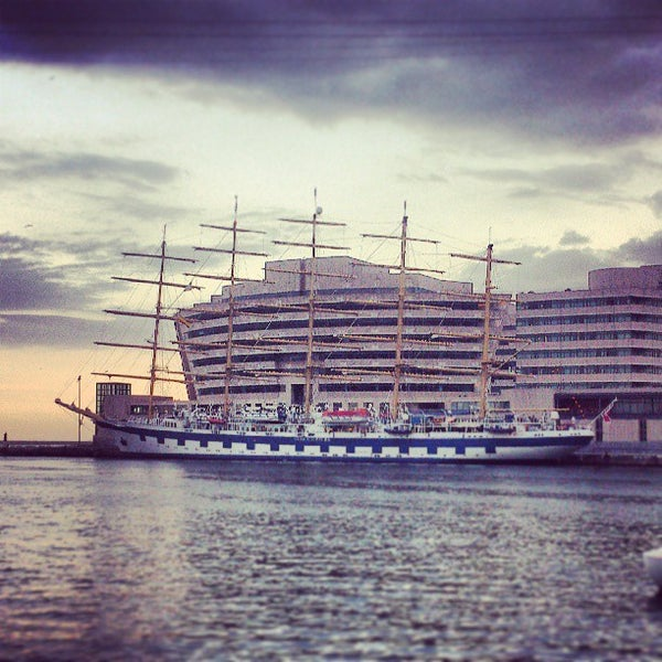 Photo taken at OneOcean Port Vell Barcelona by Josué C. on 5/5/2013